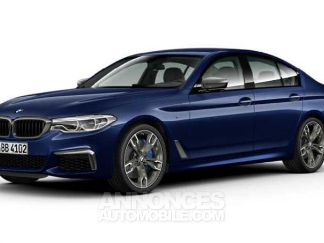 BMW Série 5 M550dA xDrive 400ch Steptronic Mediterranblau metallise Occasion - 0