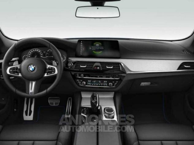 BMW Série 5 M550dA xDrive 400ch Steptronic Mediterranblau metallise Occasion - 3