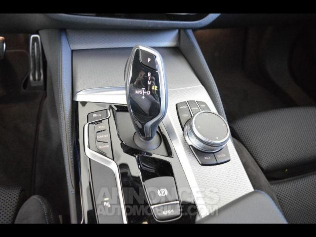 BMW Série 5 M550dA xDrive 400ch Steptronic Mediterranblau metallise Occasion - 6