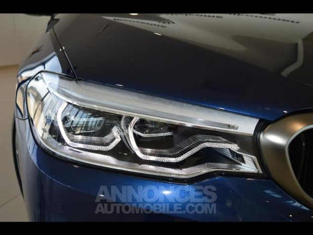 BMW Série 5 M550dA xDrive 400ch Steptronic Mediterranblau metallise Occasion - 8