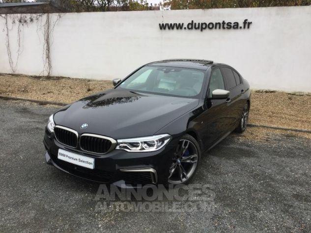 BMW Série 5 M550iA xDrive 462ch Steptronic Saphirschwarz  metallise Occasion - 0