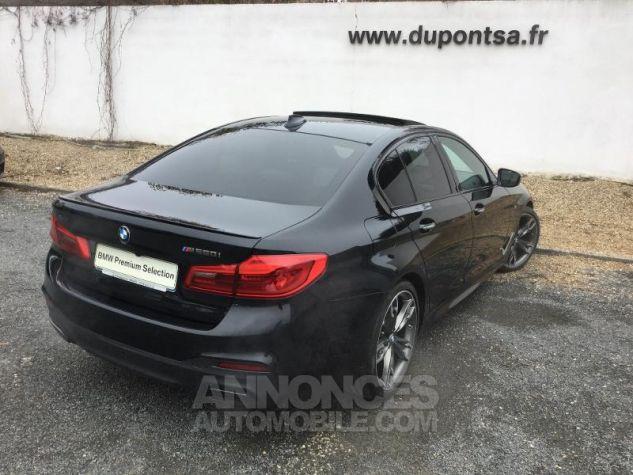 BMW Série 5 M550iA xDrive 462ch Steptronic Saphirschwarz  metallise Occasion - 1