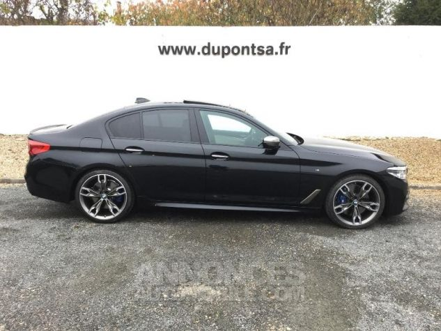 BMW Série 5 M550iA xDrive 462ch Steptronic Saphirschwarz  metallise Occasion - 12