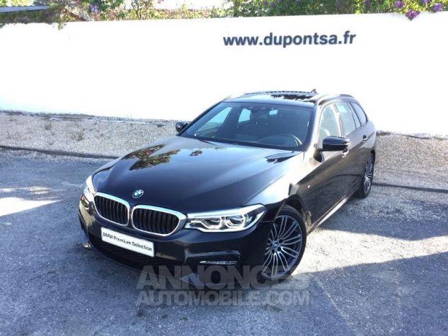 BMW Série 5 Touring 520dA 190ch M Sport Steptronic Euro6c NOIR Occasion - 0