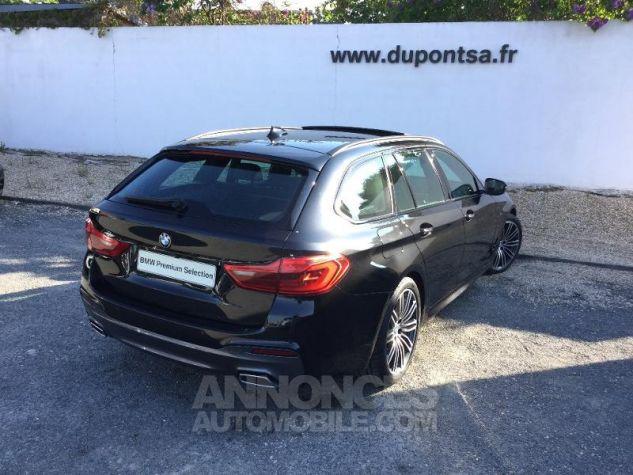 BMW Série 5 Touring 520dA 190ch M Sport Steptronic Euro6c NOIR Occasion - 1