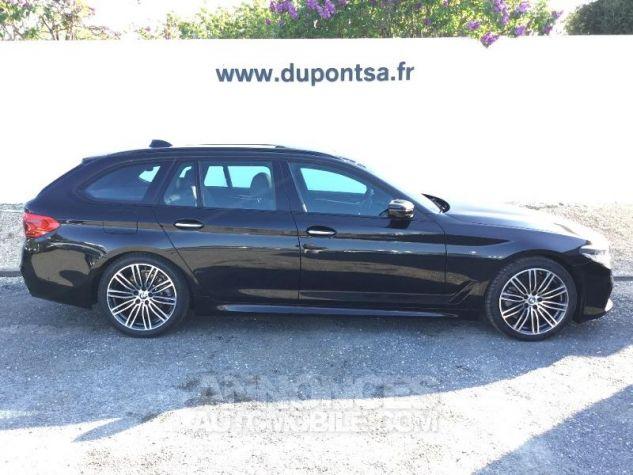 BMW Série 5 Touring 520dA 190ch M Sport Steptronic Euro6c NOIR Occasion - 10
