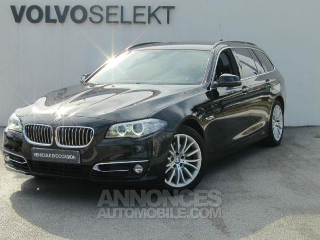BMW Série 5 Touring 520dA xDrive 190ch Luxury Saphirschwarz Occasion - 0