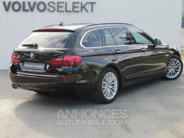BMW Série 5 Touring 520dA xDrive 190ch Luxury Saphirschwarz Occasion - 1