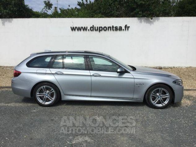 BMW Série 5 Touring 520dA xDrive 190ch M Sport GRIS C Occasion - 11