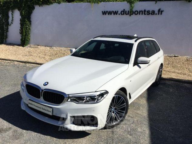 BMW Série 5 Touring 520dA xDrive 190ch M Sport Steptronic Alpinweiss III Occasion - 0