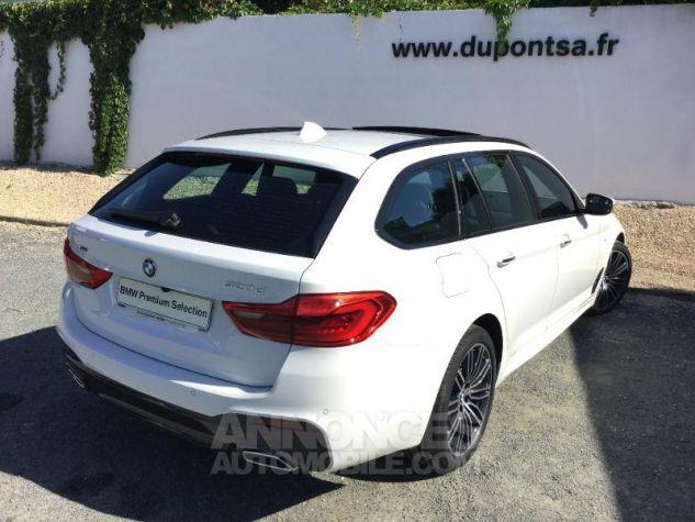 BMW Série 5 Touring 520dA xDrive 190ch M Sport Steptronic Alpinweiss III Occasion - 1
