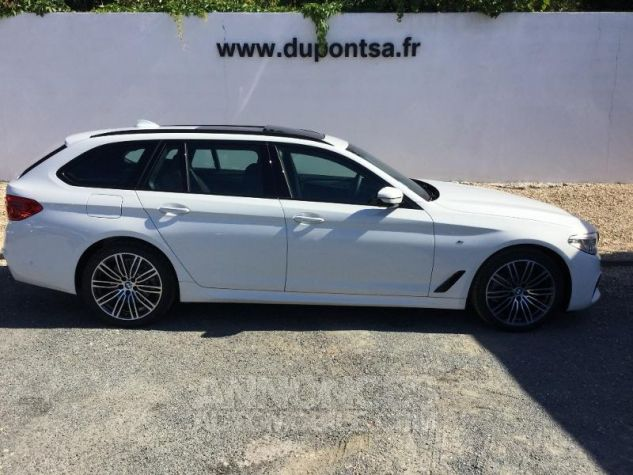 BMW Série 5 Touring 520dA xDrive 190ch M Sport Steptronic Alpinweiss III Occasion - 11