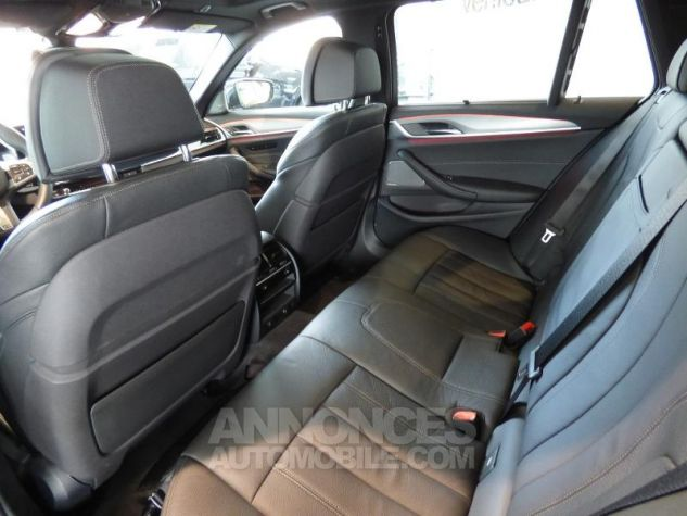 BMW Série 5 Touring 530dA xDrive 265ch M Sport Steptronic Carbonschwarz metallise Occasion - 2