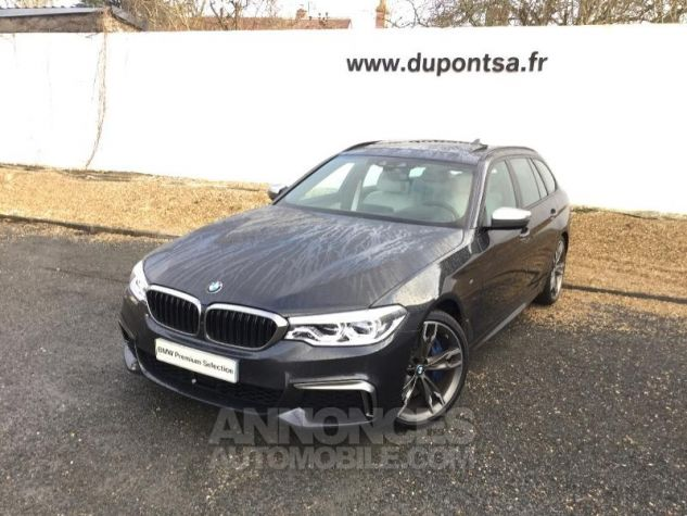 BMW Série 5 Touring M550dA xDrive 400ch Steptronic Sophistograu metallisee Occasion - 0