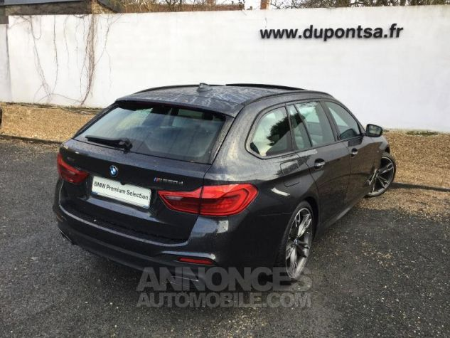 BMW Série 5 Touring M550dA xDrive 400ch Steptronic Sophistograu metallisee Occasion - 1