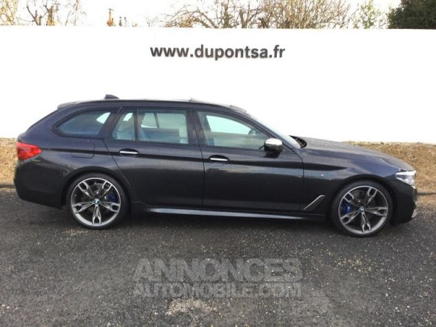 BMW Série 5 Touring M550dA xDrive 400ch Steptronic Sophistograu metallisee Occasion - 12