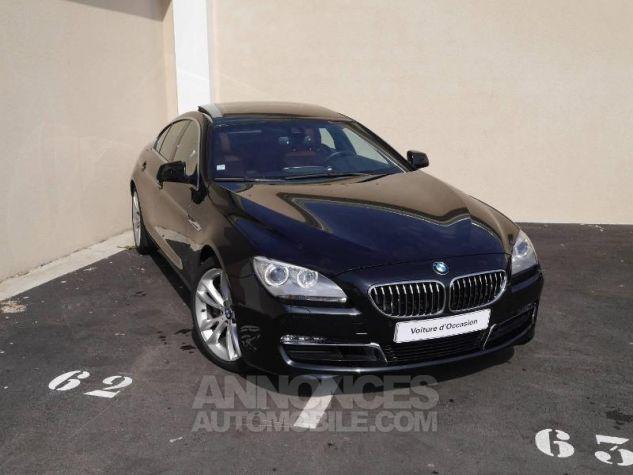 BMW Série 6 640dA 313ch Exclusive Saphirschwarz Occasion - 0