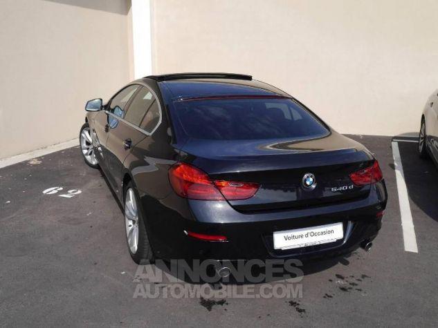 BMW Série 6 640dA 313ch Exclusive Saphirschwarz Occasion - 1