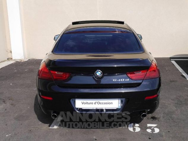BMW Série 6 640dA 313ch Exclusive Saphirschwarz Occasion - 12