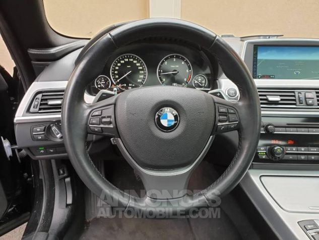 BMW Série 6 640dA 313ch Exclusive Saphirschwarz Occasion - 5