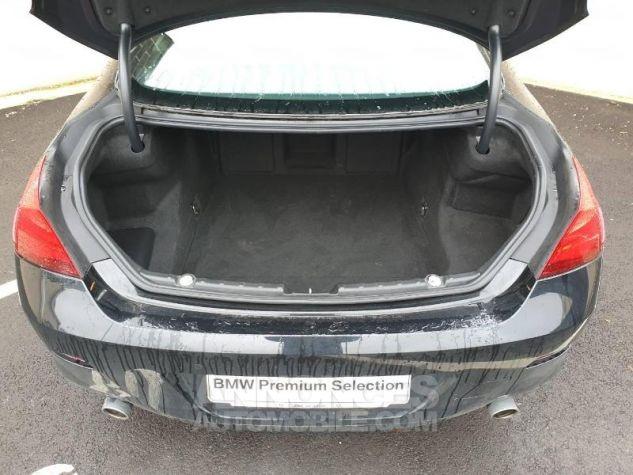 BMW Série 6 640dA 313ch Exclusive Saphirschwarz Occasion - 7