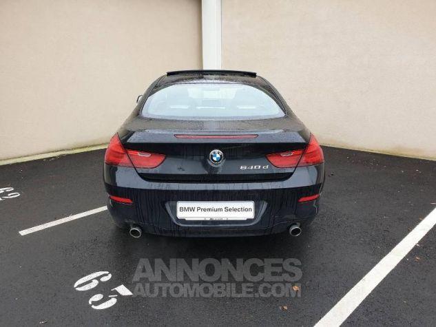 BMW Série 6 640dA 313ch Exclusive Saphirschwarz Occasion - 13