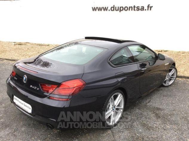 BMW Série 6 640dA xDrive 313ch M Sport NOIR Occasion - 1