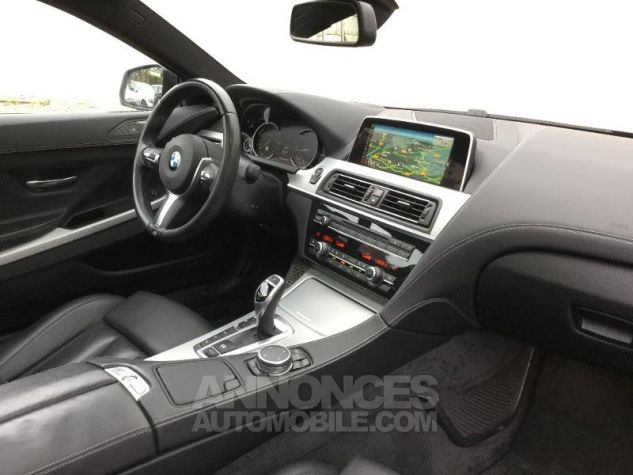 BMW Série 6 640dA xDrive 313ch M Sport NOIR Occasion - 2