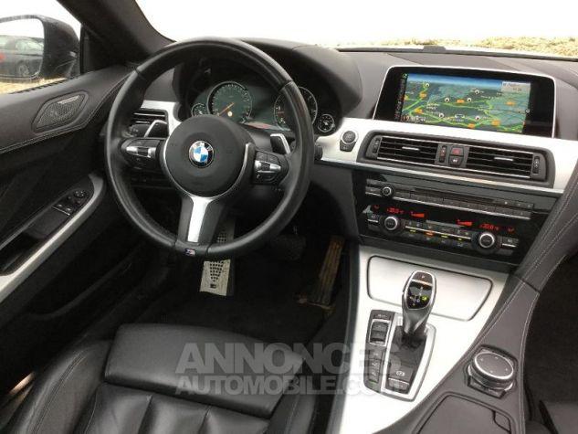 BMW Série 6 640dA xDrive 313ch M Sport NOIR Occasion - 4