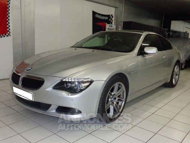 BMW Série 6 E63 635 DA 286 PACK LUXE gris clair metal Occasion - 1