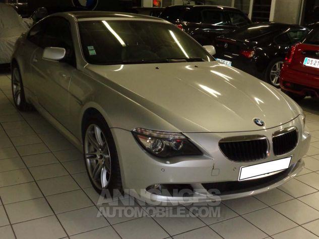 BMW Série 6 E63 635 DA 286 PACK LUXE gris clair metal Occasion - 2