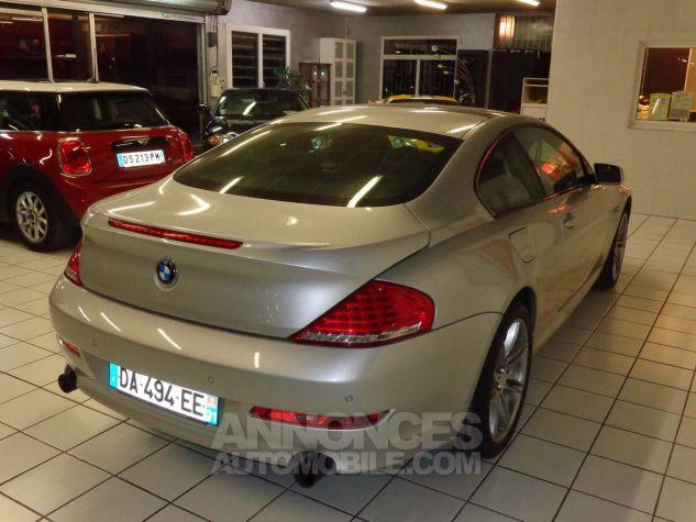 BMW Série 6 E63 635 DA 286 PACK LUXE gris clair metal Occasion - 3