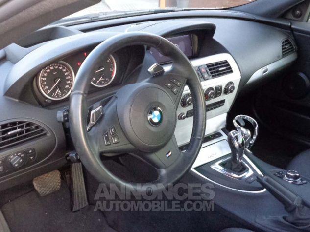 BMW Série 6 E63 635 DA 286 PACK LUXE gris clair metal Occasion - 6