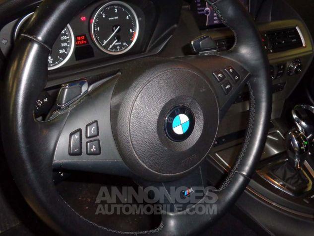 BMW Série 6 E63 635 DA 286 PACK LUXE gris clair metal Occasion - 7