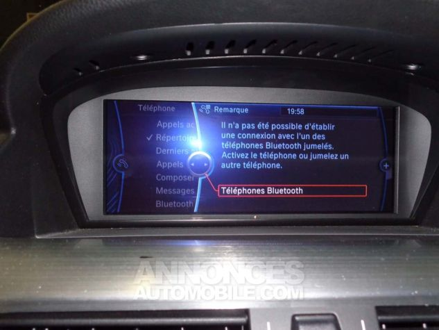 BMW Série 6 E63 635 DA 286 PACK LUXE gris clair metal Occasion - 11