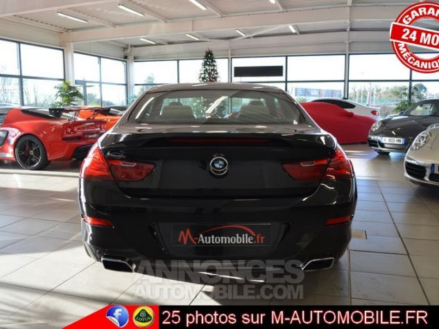 BMW Série 6 F13 640DA 313CH EXCLUSIVE NOIR Occasion - 2