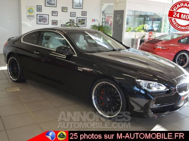 BMW Série 6 F13 640DA 313CH EXCLUSIVE NOIR Occasion - 5