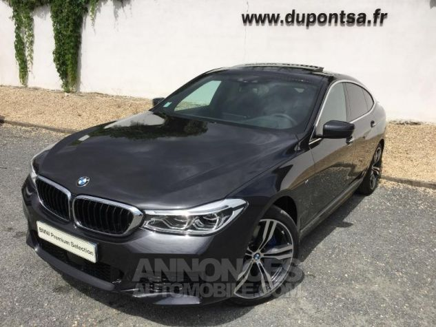 BMW Série 6 Gran Coupe 630d xDrive 265ch M Sport Sophistograu metallisee Occasion - 0