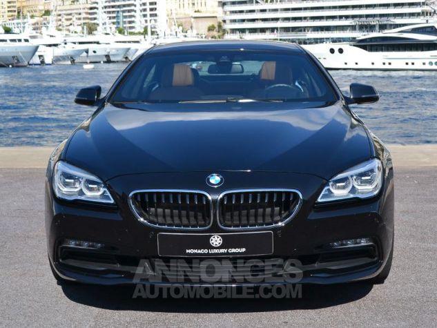 BMW Série 6 Gran Coupe 640dA xDrive 313ch Exclusive Saphirschwarz Metallise Occasion - 1