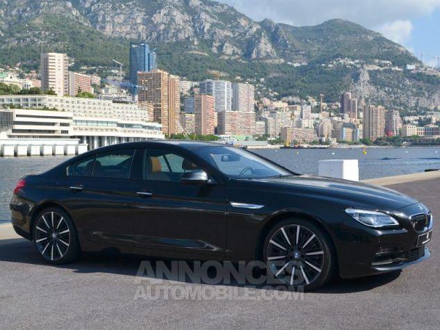 BMW Série 6 Gran Coupe 640dA xDrive 313ch Exclusive Saphirschwarz Metallise Occasion - 2