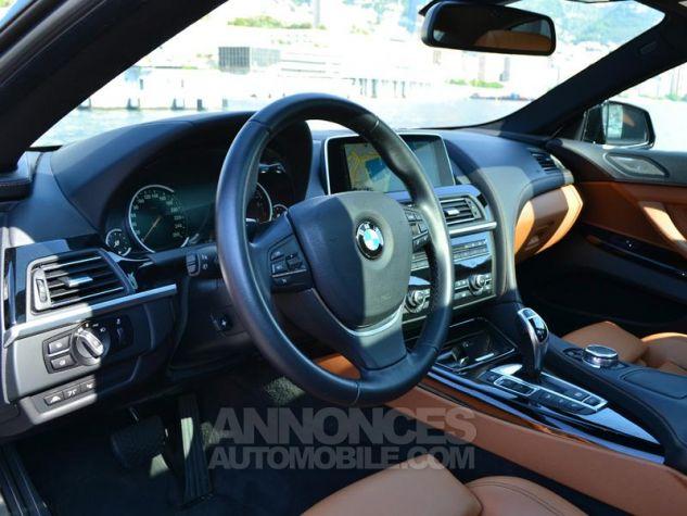 BMW Série 6 Gran Coupe 640dA xDrive 313ch Exclusive Saphirschwarz Metallise Occasion - 3
