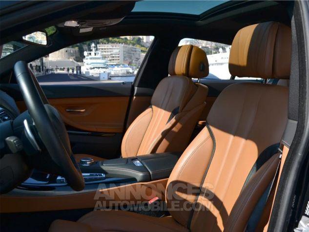 BMW Série 6 Gran Coupe 640dA xDrive 313ch Exclusive Saphirschwarz Metallise Occasion - 4