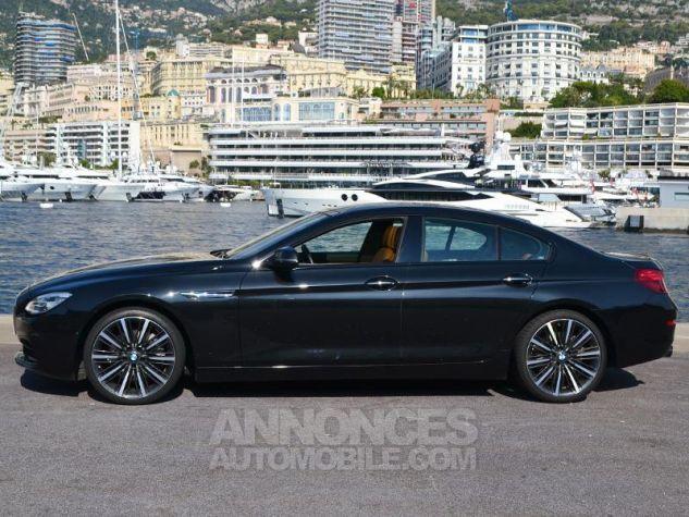 BMW Série 6 Gran Coupe 640dA xDrive 313ch Exclusive Saphirschwarz Metallise Occasion - 7