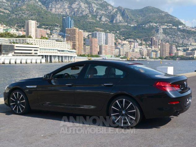 BMW Série 6 Gran Coupe 640dA xDrive 313ch Exclusive Saphirschwarz Metallise Occasion - 8