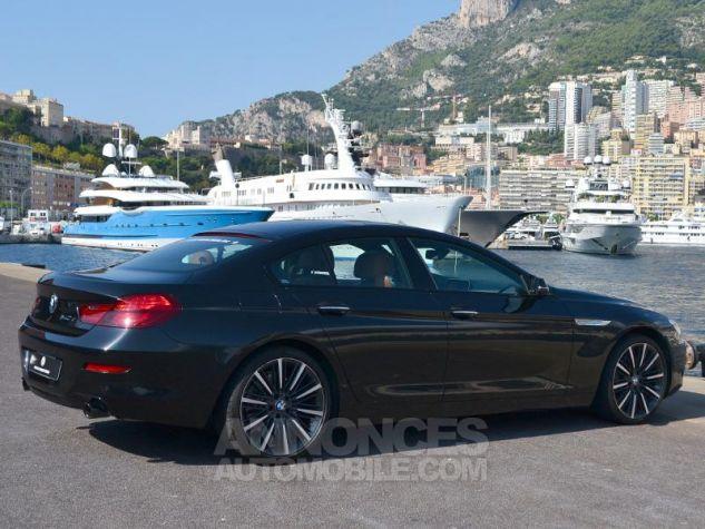 BMW Série 6 Gran Coupe 640dA xDrive 313ch Exclusive Saphirschwarz Metallise Occasion - 10