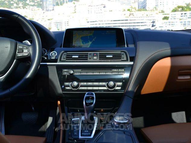 BMW Série 6 Gran Coupe 640dA xDrive 313ch Exclusive Saphirschwarz Metallise Occasion - 11