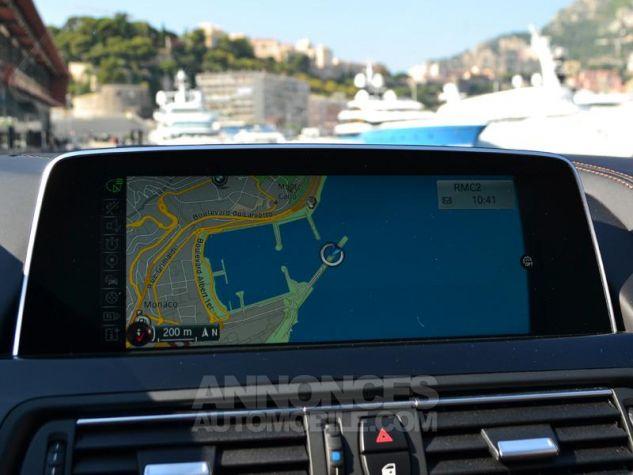BMW Série 6 Gran Coupe 640dA xDrive 313ch Exclusive Saphirschwarz Metallise Occasion - 14