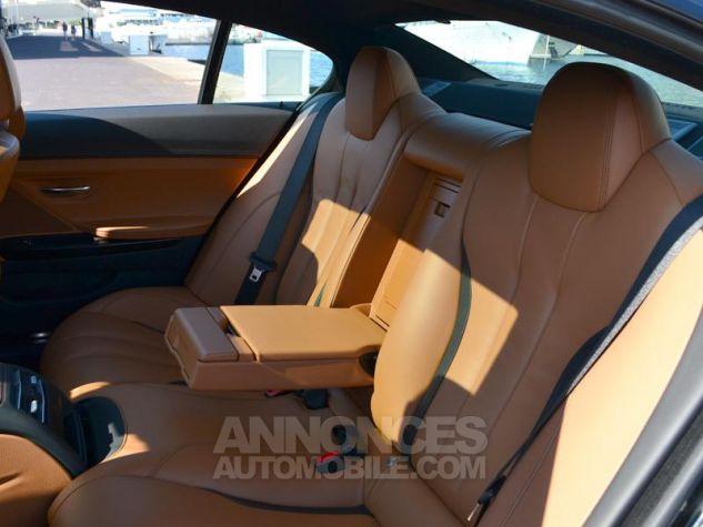 BMW Série 6 Gran Coupe 640dA xDrive 313ch Exclusive Saphirschwarz Metallise Occasion - 16