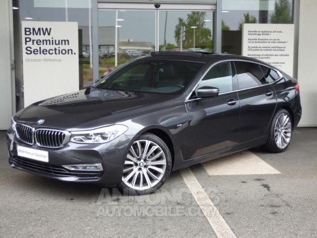 BMW Série 6 Gran Coupe Serie Turismo 630d xDrive 265ch Luxury Sophistograu Metal Occasion - 0