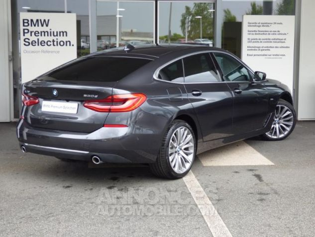 BMW Série 6 Gran Coupe Serie Turismo 630d xDrive 265ch Luxury Sophistograu Metal Occasion - 1